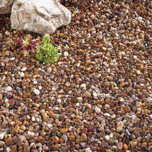 Premium Quartzite Pea Gravel 20mm Bulk Bag