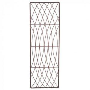 Rot-Proof Faux Willow Trellis – Rectangular Natural 1.8 x 0.6m