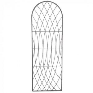 Rot-Proof Faux Willow Trellis – Round Slate 1.8 x 0.6m