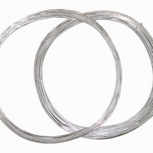 Galvanised Garden Wire 1mm Natural