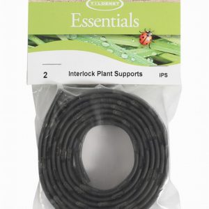Interlock Plant Support Black