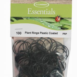 Plant Rings Plastic Coated
