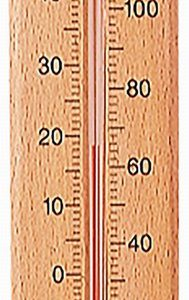 205mm Wood Thermometer