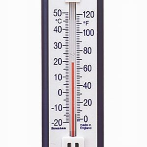 Blue & White Thermometer