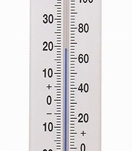 Long Wall Thermometer
